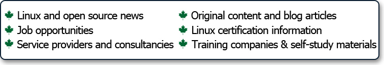 The new Linux.ca initiatives